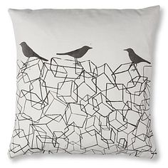 Mr Wingate bird box cushion
