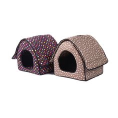 Soft Home Shape Dot Zipper Kennel Pet House For Puppy Dogs Cat  Price: 59.99 & FREE Shipping   #Cattoys #Petjewelry #Harnesses #Petsarethefashion #ShopGetBuy#ShopGetHome Pet Dogs, Dogs And Puppies, Dog Cat, Pets, Dog Houses, House Dog, Animal House, Animal Jewelry, Doge
