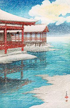 Japanese Fine Art Reproduction Home Decor by OrientalArtPrints