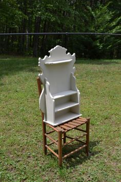 Vintage Spice Rack Shelf Cottage Kitchen Decor by LittlestSister, $75.00