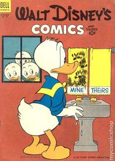 Walt Disney's Comics and Stories (1940 Dell/Gold Key/Gladstone) 156