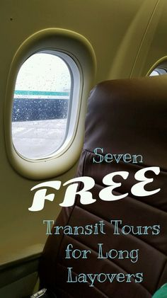 Make the most of your next long layover by taking a free transit tour! Instead of browsing over priced merchandise, get out and see the sights! Pilot Wife, Make It Work, Flight Attendant, Setting Goals, World Traveler, Getting Out, Family Travel, Travel Tips, Cruise