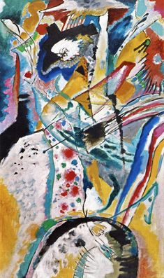 The Athenaeum - Large Study for a Mural for Edwin R. Campbell (Summer) (Wassily Kandinsky - )
