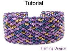SuperDuo Jewelry Making Pattern Beading Tutorial Beaded