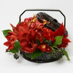 """Celosia arrangements 