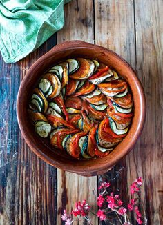 Vegetarian Recipes, Healthy Recipes, Fitness Nutrition, Going Vegan, Ratatouille, Italian Recipes, Love Food, Recipies, Food And Drink