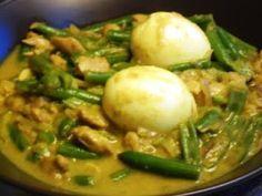De keuken van Martine: Pittige curry met sperziebonen