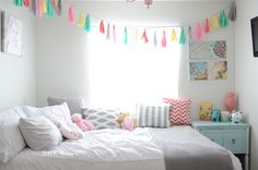 Love the mix of gray and pastels. #BabyCenterBlog