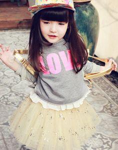 www.peach-cream.co.kr hiphop girl love stud T-shirt