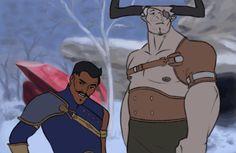 Dori and Bull gif