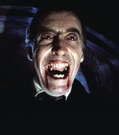 "Christopher Lee as ""Dracula"" (Hammer Horror Films) Hammer Horror Films, Hammer Films, Vampire Dracula, Vampire Love, Best Horror Movies, Scary Movies, Mascaras Halloween, Horror Pictures, Horror Pics"