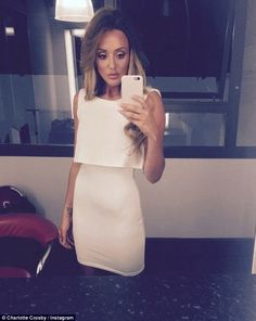 Looking different: Charlotte Crosby showed off a dramatically slimmer frame on her Instagr...