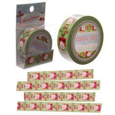 Weihnachtsmann-Paper-Tape-10-Meter-Weihnachten-Washi-Tape