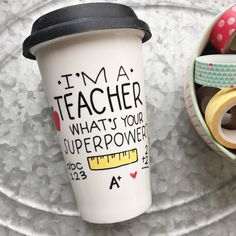 Teacher Mug I'm a TEACHER What's Your von MorningSunshineShop