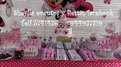 Decoración temática Minnie mouse.Lima-Perú Correo: sheylla_eventos y fiestas@hotmail Telf.5741436-944937319 Sheylla eventos y fiestas/facebook