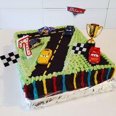 Cars 3 cake for my 7 year old