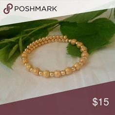 Mk gold bracelet MK bracelet with gold beads adjustable NO OFFERS BUNDLE FOR DISCOUNT Jewelry Bracelets