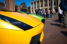 Lamborghini's at the Red Square Car Show at UW
