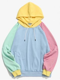 Stylish Hoodies, Cool Hoodies, Colorful Hoodies, Teen Fashion Outfits, Emo Fashion, Style Fashion, Trendy Fashion, Jugend Mode Outfits, Cute Lazy Outfits