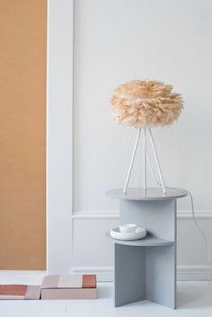 Create a mesmerizing aesthetic with earth tones of the Nordic landscape. Photo credit: @beatrice_de_franceschi Eos, VITA copenhagen, lampshade, lamp, lighting, hygge, cosy, light, design, nordic home, nordic design, danish design, scandinavian design, Denmark, Scandinavia, Scandinavian Home, Urban Living, home decor, interior, Soren Ravn Christensen