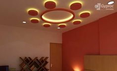 Saint Gobain Gyproc offers an innovative residential ceiling design ideas for various room such as living room, bed room, kids room and other spaces. Ceiling Chandelier, Ceiling Tiles, Ceiling Lights, Diy Interior, Interior Design, Simple False Ceiling Design, Ceiling Crown Molding, Faux Wood Beams, False Ceiling Living Room