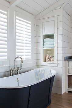 More ideas below: BathroomRemodel Small Bathroom Remodel On A Budget DIY Bathroom Remodel Ideas With Tub Half Paint Bathroom Shower Remodel Master Tile Farmhouse Bathroom Remodel Rustic Bathroom Remodel Before And After Coastal Bathrooms, Modern Farmhouse Bathroom, Small Bathroom, Master Bathroom, Bathroom Ideas, Beach Hut Bathroom, Bathtub Ideas, Neutral Bathroom, Bathroom Images