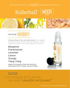 Release Worry :: Rollerball Blend