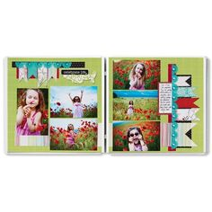 Celebrate Life Everyday Enchanted Scrapbook Layout Project Idea from Creative Memories #scrapbooking    http://www.creativememories.com