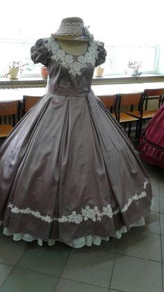 Suknia lawendowa