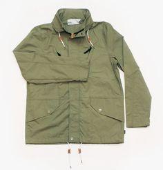Deep Lichen Green Nassim Jacket by WeSC