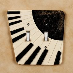 Fun for a music room or kids' bedrooms Piano Keys, Piano Music, Music Items, Music Stuff, Winter Nail Art, Winter Nails, Punk Rock Bedroom, Piano Gifts, Best Piano