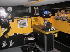 1000 Images About My Husband 39 S Man Cave Ideas On Pinterest Pittsburgh Steelers Man Cave And