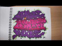 Graffiti alphabet by cntgraffiti on DeviantArt Graffiti Lettering Alphabet, Graffiti Writing, Alphabet Board, Letter F, Sad Stories, Calligraphy Fonts, Pink Purple, Markers, Diy