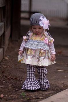 Silver Bells Crochet Hat