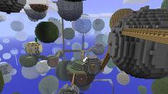 Un exemple de construction sur Minecraft (Flickr/CC/Mike Prosser)