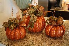 Custom Decorated Pumpkins