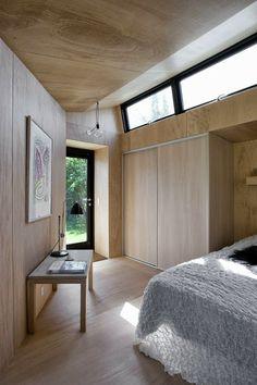 Beautiful annex in Prestø, Denmark. By Martin Kallesø Architects.