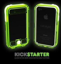 Glow in the dark phone case