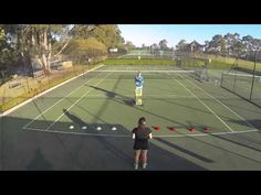 Tennis Footwork Drill - First Step Footwork For Tennis - YouTube