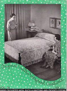 Download Original Bucilla Bedspread Creations Vol. 76