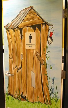www.JMS-ART.com  Ailing Outhouse by jms artist, via Flickr