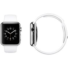Amazon.com: Apple Watch Sport, Silver Aluminum Case/White Band, 42mm: Cell Phones & Accessories