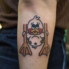 Home - Tattoo Spirit Duck Tattoos, Tattoo Designs, Tattoo Templates, Tattoo Spirit, Tattoo Motive, Oldschool, Traditional Tattoo, Comic, Sun