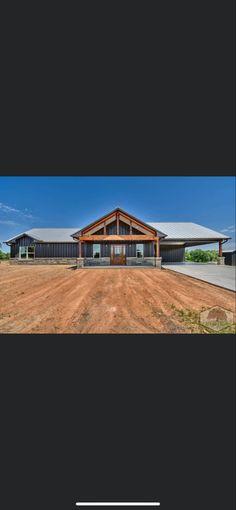 Metal House Plans, Pole Barn House Plans, Pole Barn Homes, New House Plans, Dream House Plans, Modern House Plans, House Floor Plans, My Dream Home, Metal Building Homes
