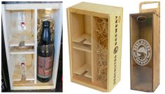 It's all about the presentation! And the tasty beer, of course... Not only do we have swag galore on our webstore for that craft beer lover in your life, but we've got the beautiful wood box displays as well (The Abyss not included). Hoppy Shopping: http://ow.ly/rskUx