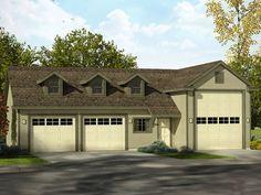 RV Garage Plan, 051G-0086                                                                                                                                                     More