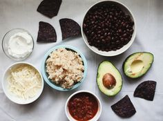 ... burrito black bean and guac burrito oatmeal burrito bowl recipes