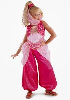 disfraz niña arabe