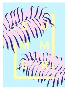Summer Art Print by Laura Martinet | Society6