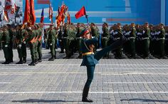 2016 Moscow Victory Day Parade - Parade Marking 71st Anniversary of WWII Victory in Moscow Russian soldiers march in Sevastopol, Crimea, May 3, 2016, in a rehearsal ... to march in military parades across 26 cities, the Moscow Times reported. ... in Moscow, April 28, 2016, for a rehearsal for the Victory Day parade Russian Parade 2016 : https://www.youtube.com/watch?v=C3LxzgK5Oa4 Russian Military Parade: https://youtu.be/IXOrpIHlOoo